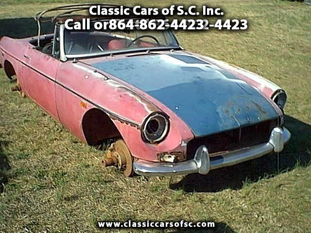 1968 MGB Roadster
