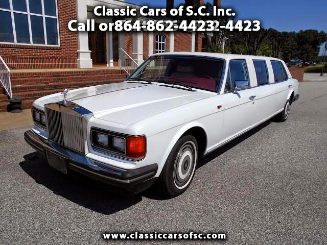 1989 Rolls-Royce Silver Spur Limo