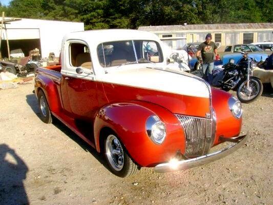 1940 Ford Custom Street Rod Pickup