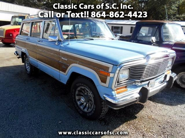 1980 Jeep Grand Wagoneer