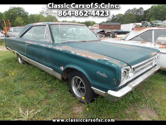 1967 Plymouth Satellite 2-Door Hardtop