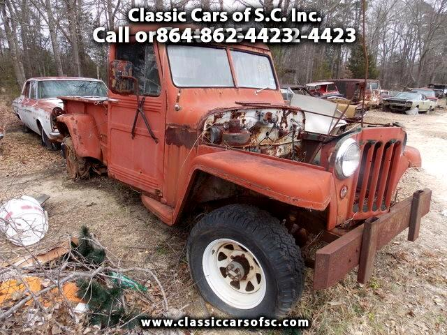 1958 Jeep Comanche 4x4