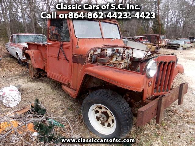1958 Jeep Comanche
