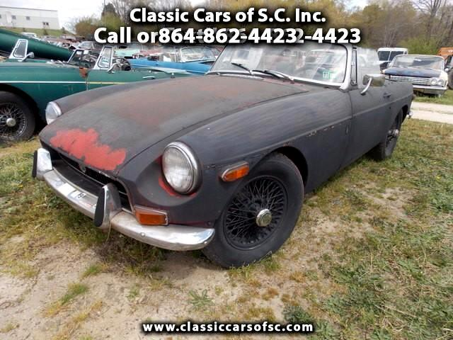1972 MGB Roadster Convertible