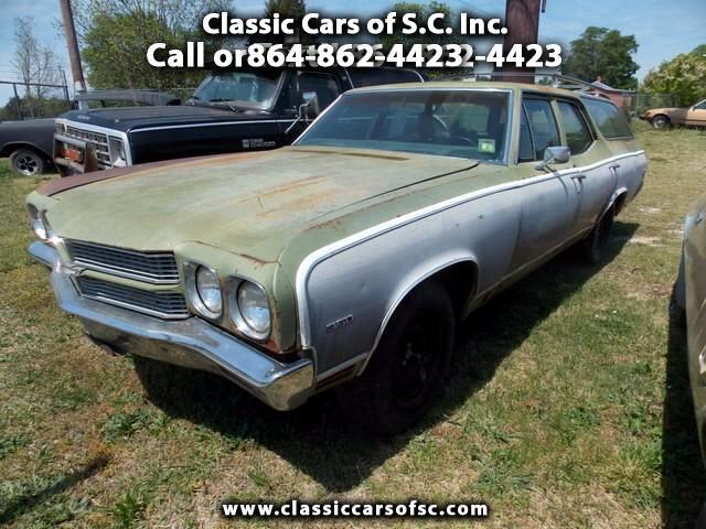 1970 Chevrolet Malibu Classic Wagon