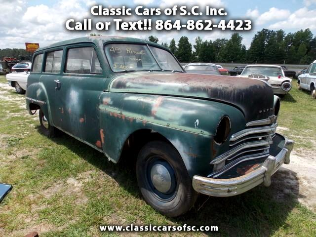 used 1949 plymouth suburban 2 door station wagon for sale. Black Bedroom Furniture Sets. Home Design Ideas