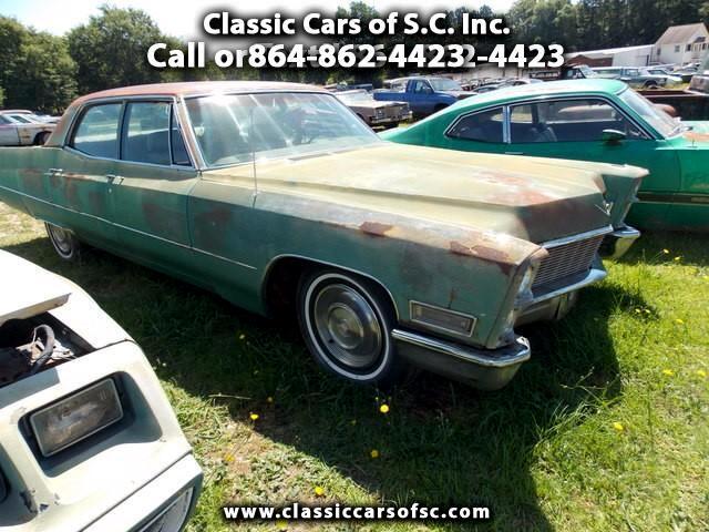 1968 Cadillac Sedan