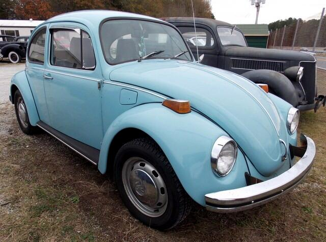 1972 Volkswagen Beetle Coupe