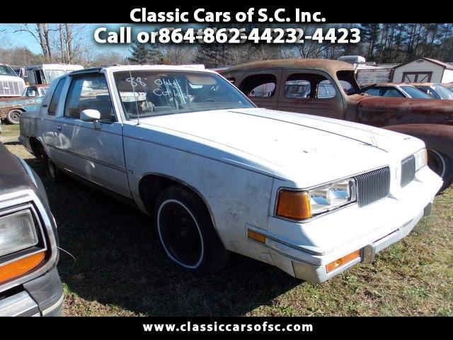 1988 Oldsmobile Cutlass Supreme Base