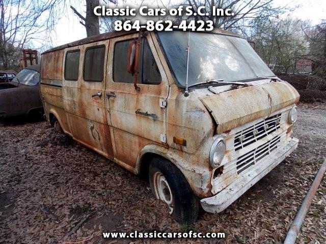 1969 Ford Econoline Cargo Van base