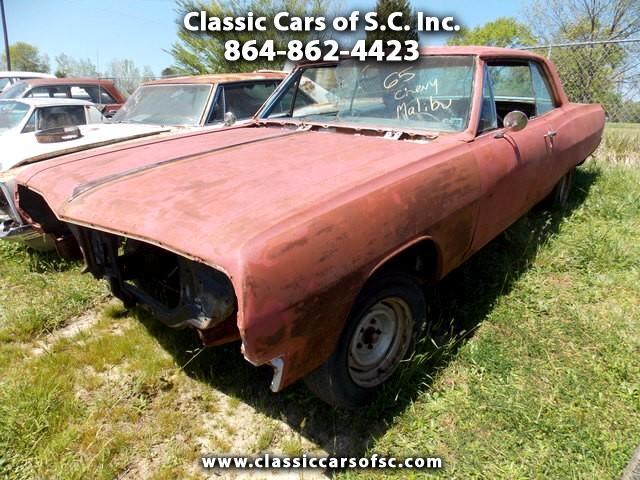 1965 Chevrolet Chevelle Malibu SS Genuine 138 SS car