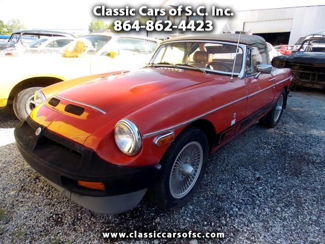 1977 MGB Convertible Has aluminium V8 engine