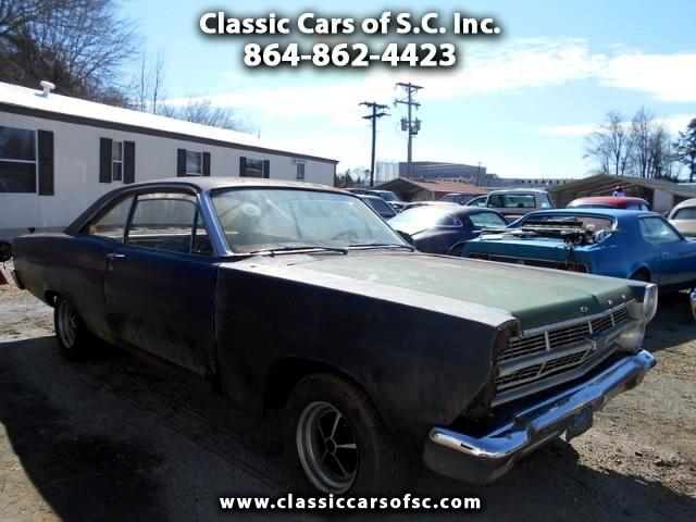 1967 Ford Fairlane 500 Fairlane 500XL with bucket seats and console