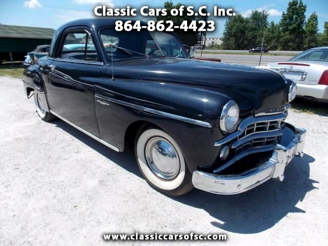 1949 Dodge Wayfarer 3 window coupe