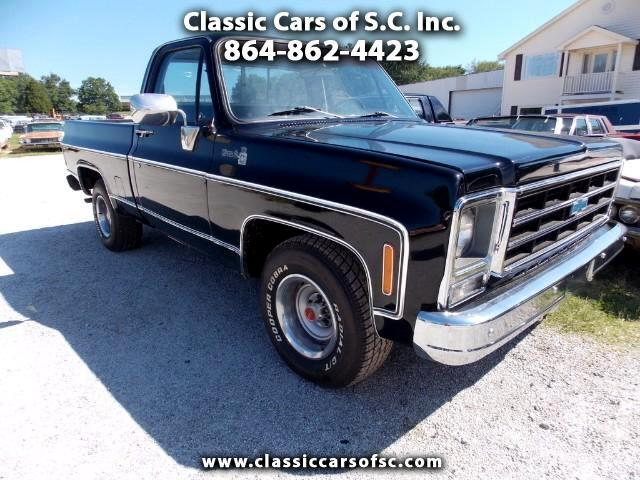 1979 Chevrolet Trucks C10 Sometimes called a Big 10 with the 454 Engine