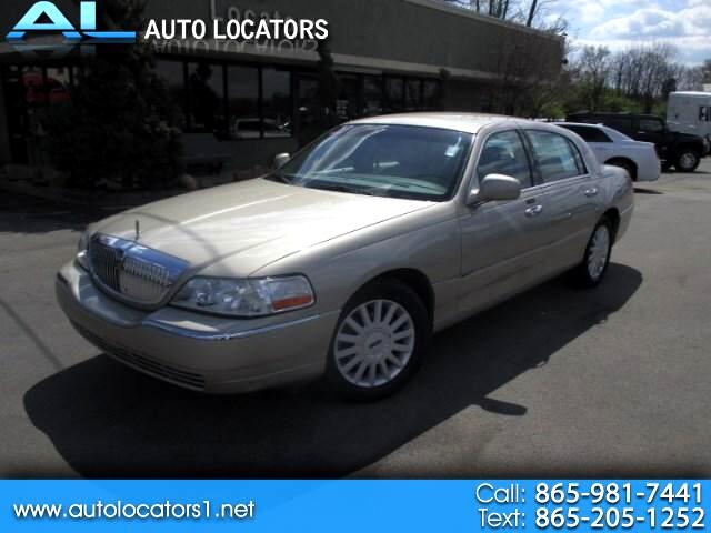 2005 Lincoln Town Car Please feel free to contact us toll free at 866-223-9565 for more information