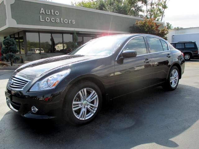 2010 Infiniti G Sedan Please feel free to contact us toll free at 866-223-9565 for more information