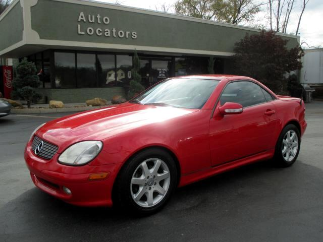 2003 Mercedes SLK Please feel free to contact us toll free at 866-223-9565 for more information abou