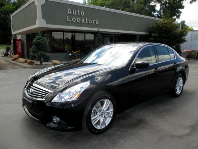 2011 Infiniti G Sedan Please feel free to contact us toll free at 866-223-9565 for more information