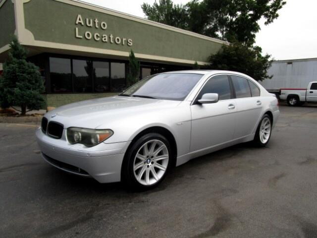 2003 BMW 7-Series Please feel free to contact us toll free at 866-223-9565 for more information abo
