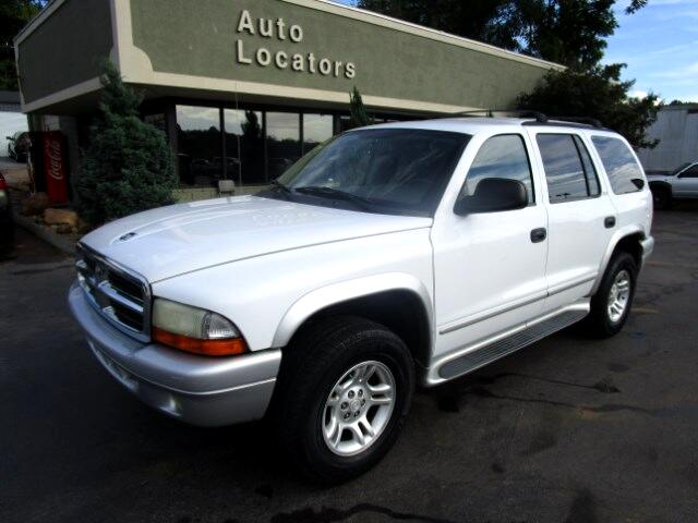 2002 Dodge Durango Please feel free to contact us toll free at 866-223-9565 for more information ab