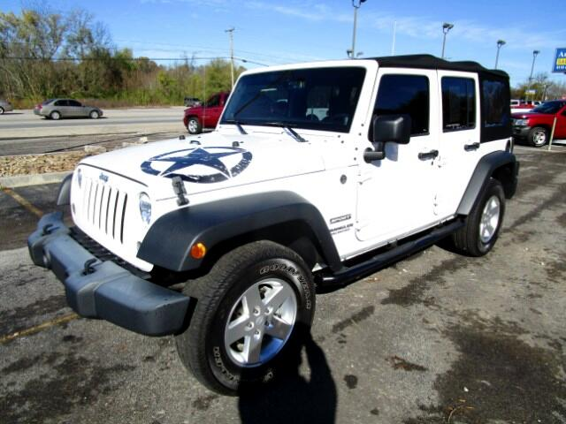 2014 Jeep Wrangler UNIT HAS SALVAGE TITLE Please feel free to contact us toll free at 866-223-9565