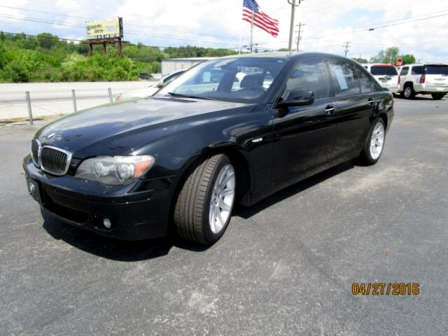 2006 BMW 7-Series Please feel free to contact us toll free at 866-223-9565 for more information abo