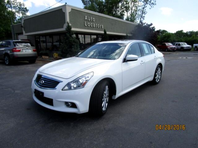 2013 Infiniti G Sedan Please feel free to contact us toll free at 866-223-9565 for more information