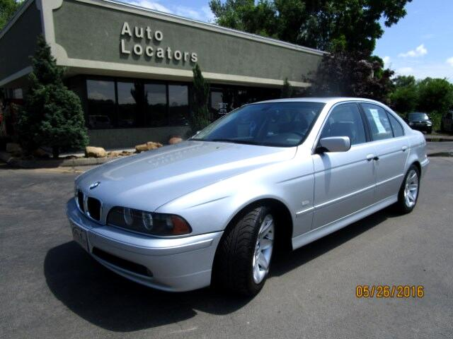 2003 BMW 5-Series Please feel free to contact us toll free at 866-223-9565 for more information abo