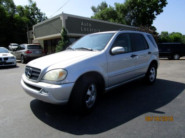 2002 Mercedes M-Class Please feel free to contact us toll free at 866-223-9565 for more information