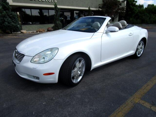 2002 Lexus SC 430 Please feel free to contact us toll free at 866-223-9565 for more information abo