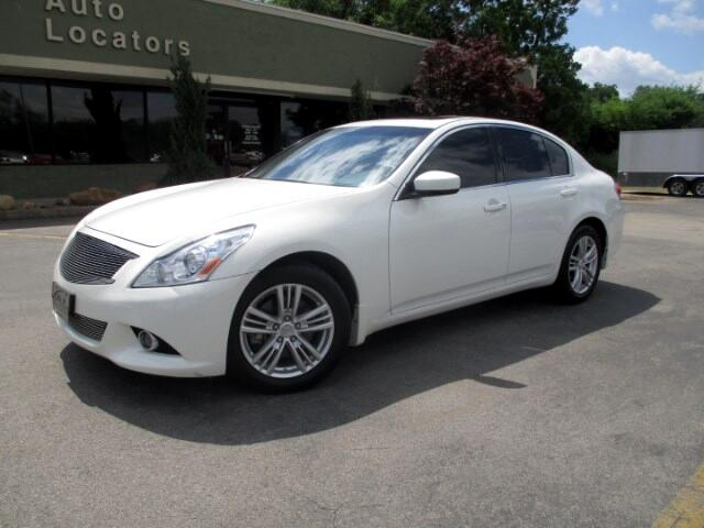 2012 Infiniti G Sedan Please feel free to contact us toll free at 866-223-9565 for more information