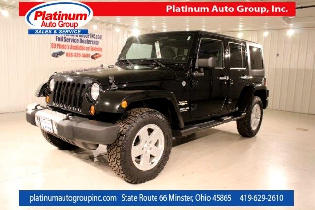 2012 Jeep Wrangler Unlimited Sahara 4D Sport Utility