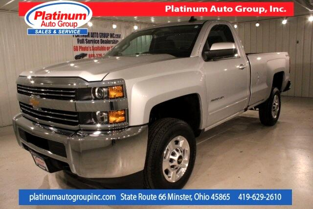 2017 Chevrolet Silverado 2500HD LT Regular Cab 8' Bed