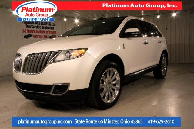 2013 Lincoln MKX Elite 4D Sport Utility
