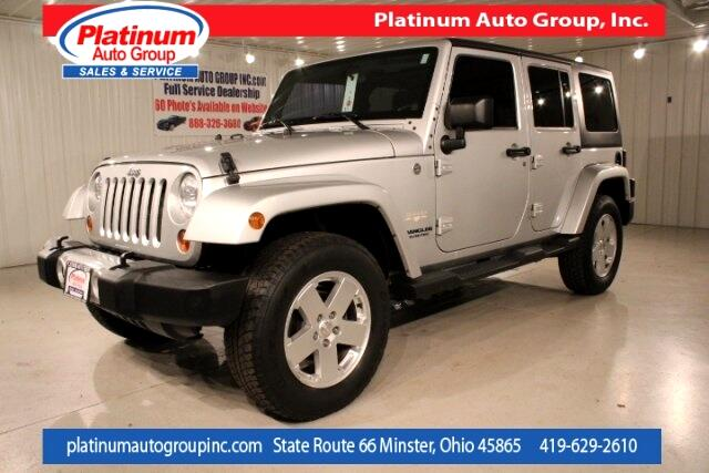 2011 Jeep Wrangler Unlimited Sahara 4D Sport Utility