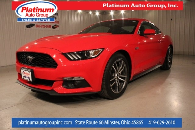2016 Ford Mustang EcoBoost 2D Coupe
