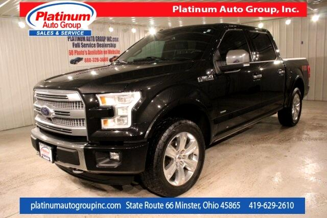 2015 Ford F-150 Platinum 4D SuperCrew