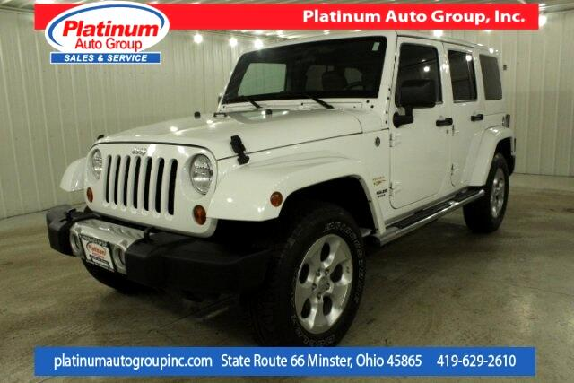2013 Jeep Wrangler Unlimited Sahara 4D Sport Utility