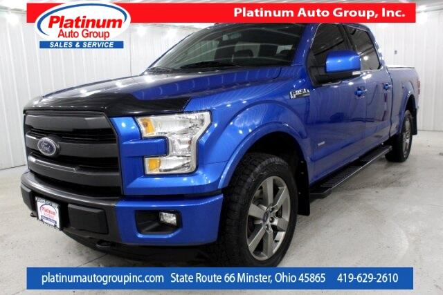 2015 Ford F-150 Lariat 4D SuperCrew