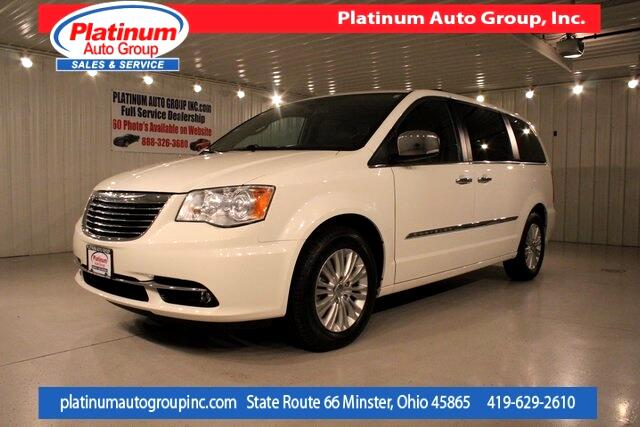 2013 Chrysler Town & Country Limited 4D Passenger Van
