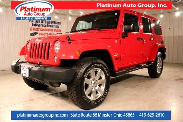 2014 Jeep Wrangler Unlimited Sahara 4D Sport Utility