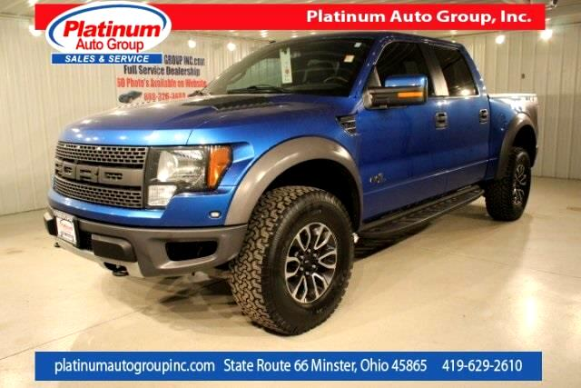 2012 Ford F-150 SVT Raptor 4D SuperCrew