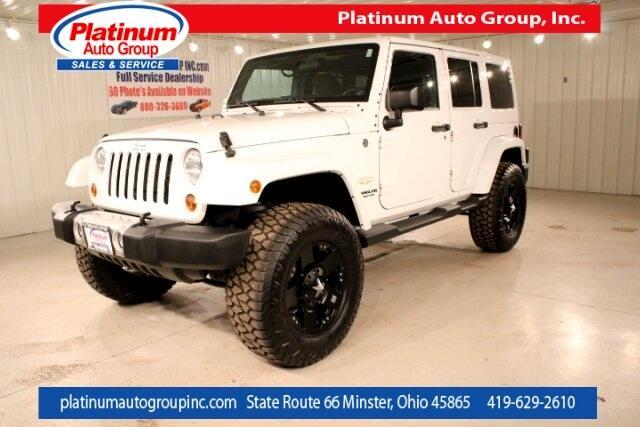 2012 Jeep Wrangler Unlimited Sahara 4D Sport Utility