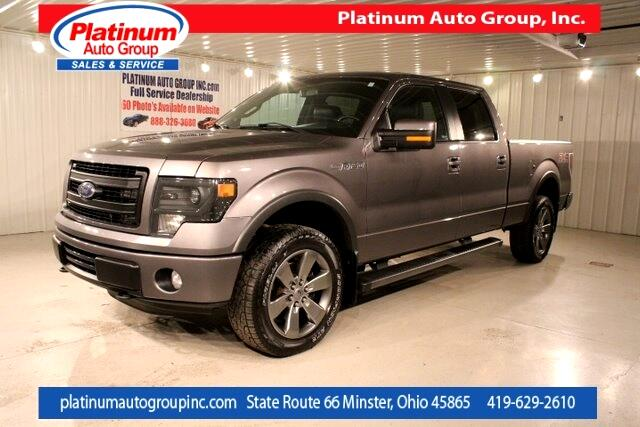 2014 Ford F-150 FX4 4D SuperCrew