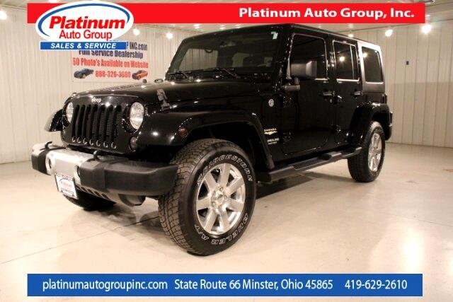 2014 Jeep Wrangler Unlimited Sahara 4D Sport Utility