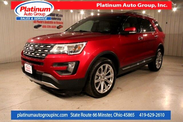 2016 Ford Explorer Limited 4D Sport Utility