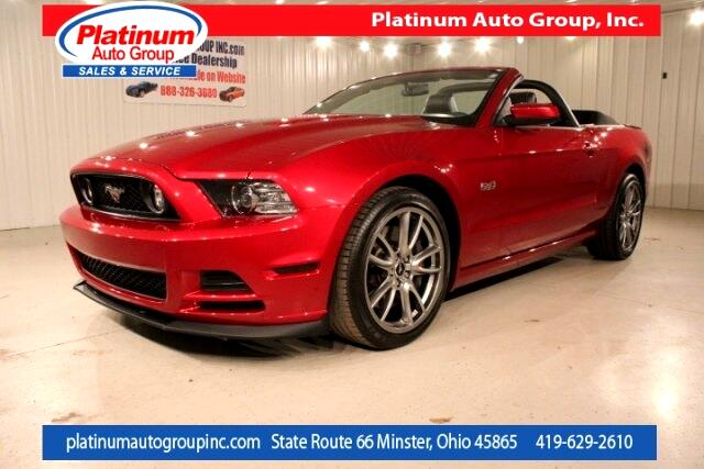 2014 Ford Mustang GT Premium 2D Convertible