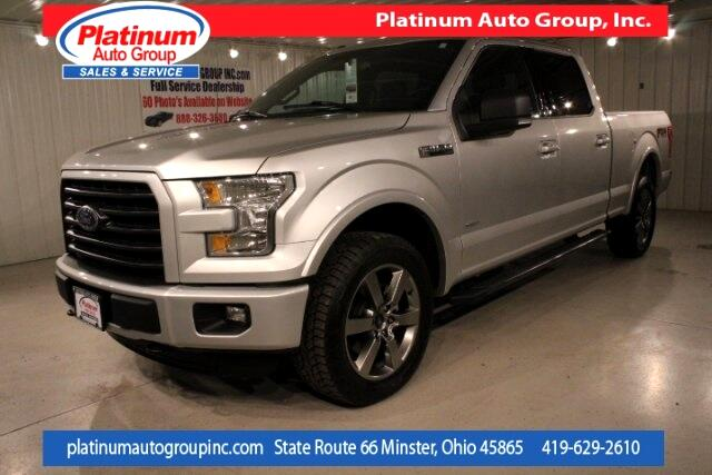 2016 Ford F-150 XLT 4D SuperCrew
