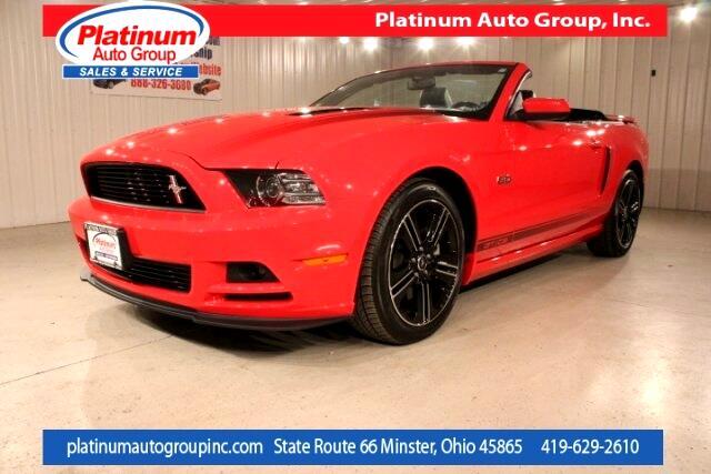 2014 Ford Mustang GT Premium 2D Convertible